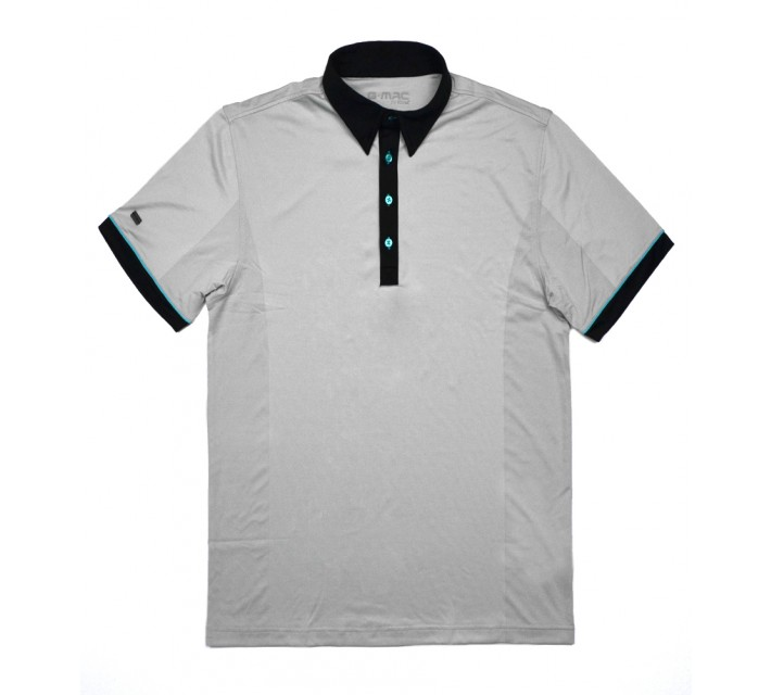 G-MAC MCMESH POLO METAL - SS16