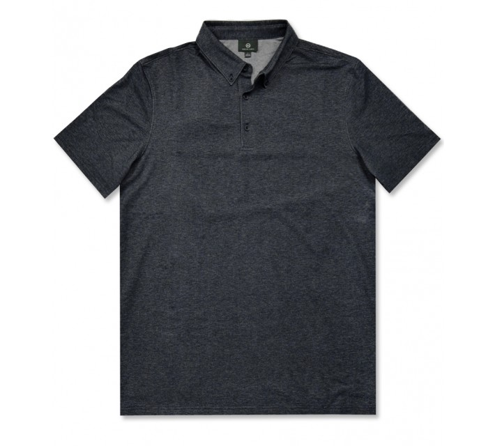 AG GREEN LABEL THE MENSA POLO NAVAL BLUE - AW16