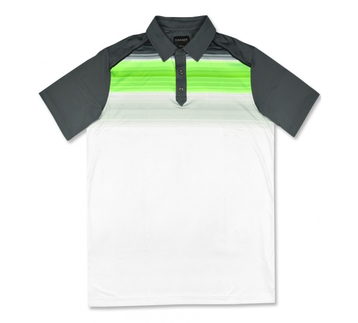 CHASE54 MERRIMAN POLO NEON GREEN - SS16