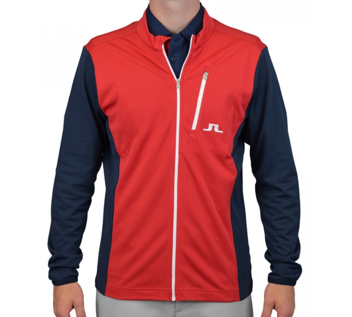 J. LINDEBERG MID JACKET RED INTENSE - AW15