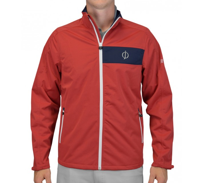 OSCAR JACOBSON MILLER 3-LAYER JACKET RED - SS15