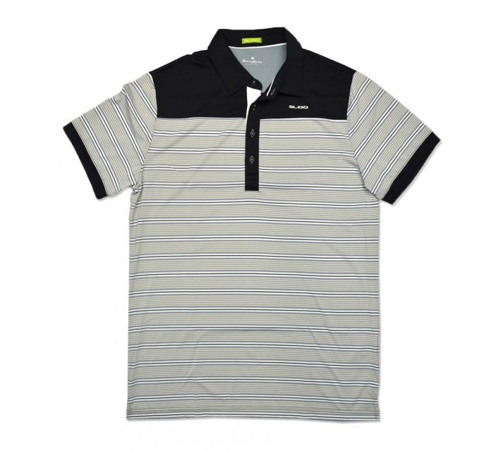SLIGO MITCHELL GOLF POLO BLACK - SS16