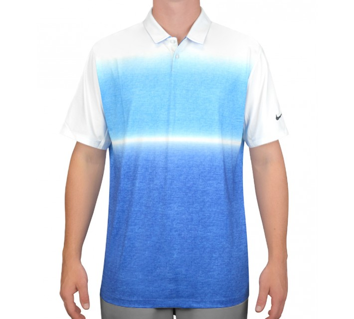 NIKE MOBILITY GRADIENT POLO PHOTO BLUE - AW15 CLOSEOUT
