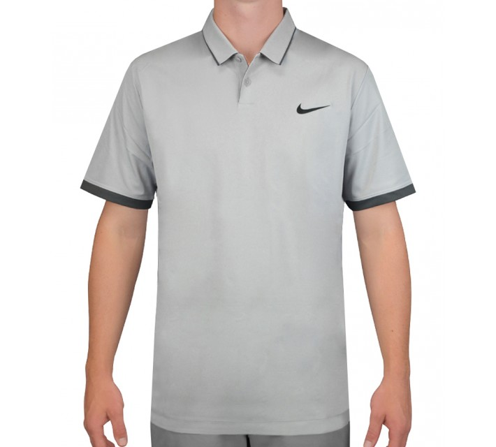 NIKE MOBILITY WOVEN POLO WOLF GREY - AW15 CLOSEOUT