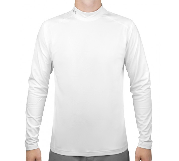 UNDER ARMOUR COLDGEAR MOCK WHITE - AW16