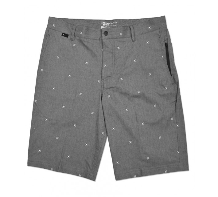 NIKE MODERN FIT PRINT SHORT ANTHRACITE - SS16 CLOSEOUT