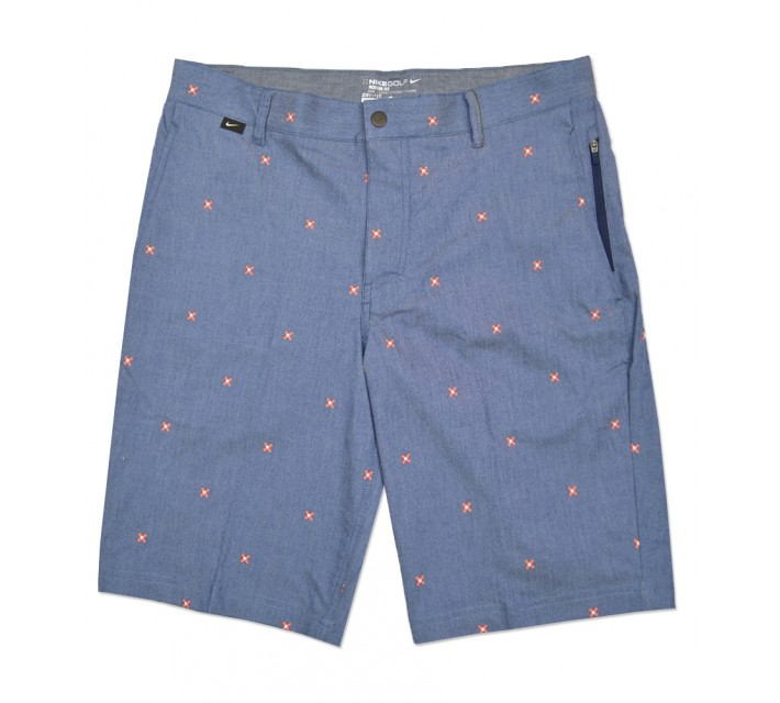 NIKE MODERN FIT PRINT SHORT MIDNIGHT NAVY - SS16 CLOSEOUT