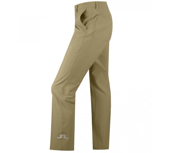 J. LINDEBERG TOUR MICRO STRETCH GOLF PANTS BEIGE - AW15