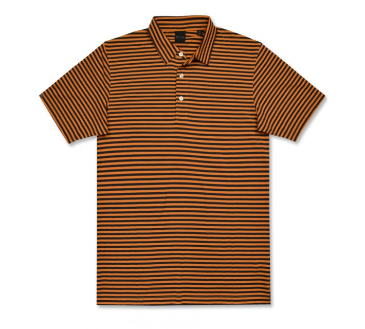 DUNNING NATURAL HAND STRIPE POLO MONICO/HALO - AW16