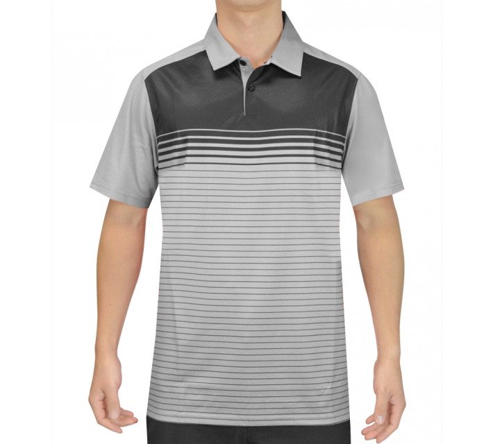 OAKLEY NELSON GOLF POLO STONE GREY - SS16