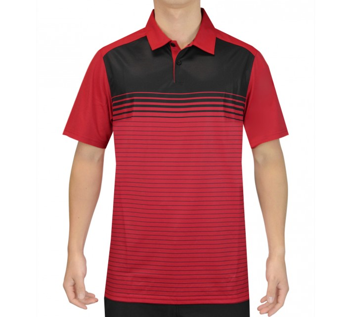 OAKLEY NELSON GOLF POLO RED LINE - SS16