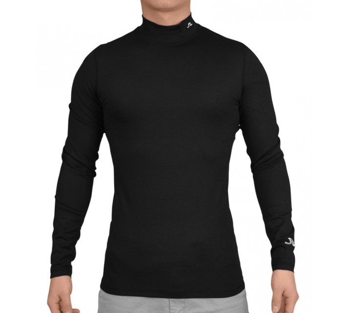 J. LINDEBERG NEVAN TECH BASE LAYER BLACK - SS16