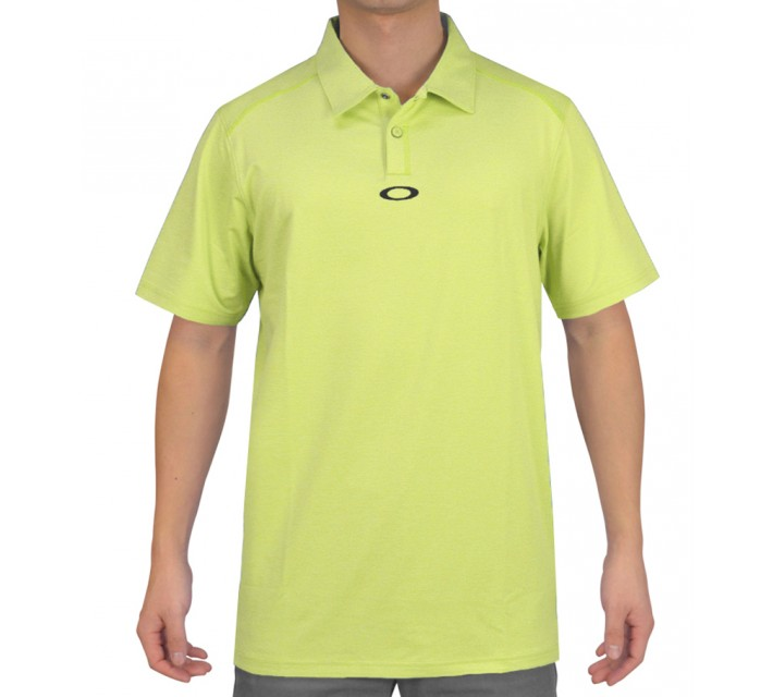OAKLEY NEWLYN POLO BRIGHT LIME - SS15