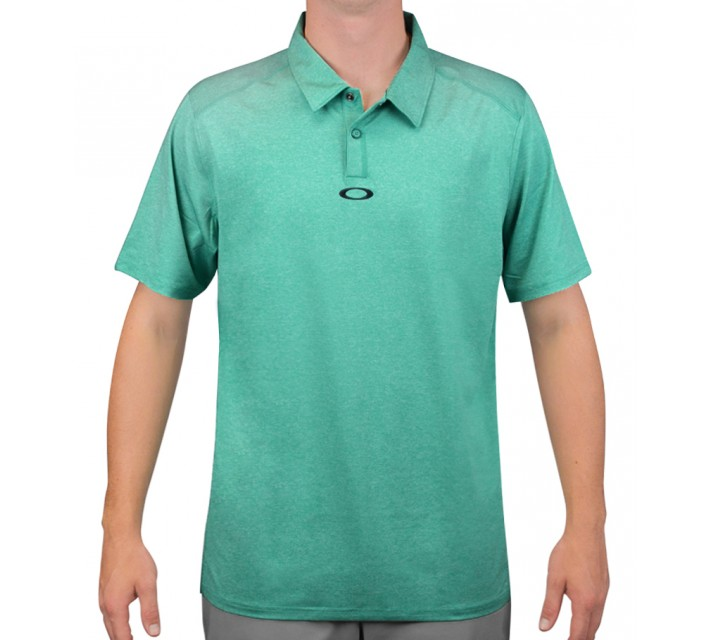 OAKLEY NEWLYN GOLF POLO PEACOCK - AW15