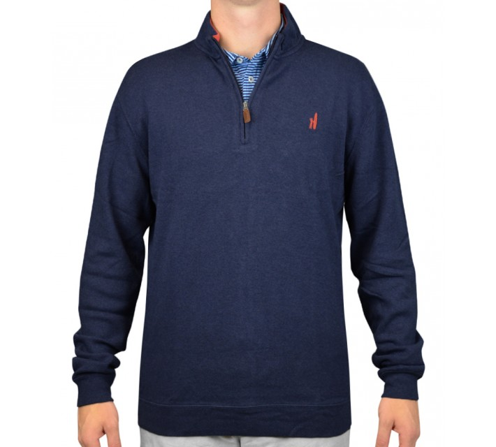 JOHNNIE-O NEWPORT 1/4 ZIP PULLOVER TWILIGHT - AW15