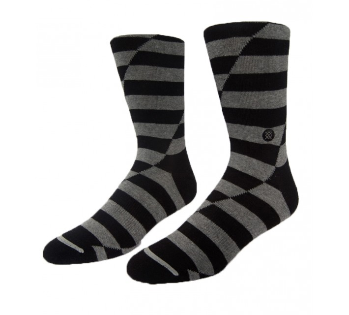 TRAVISMATHEW NO QUITTERS SOCKS BLACK - AW15