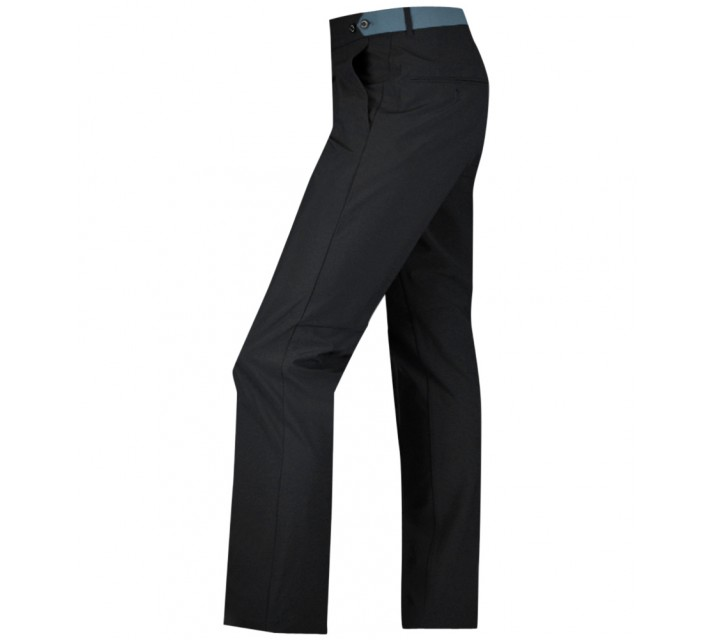 J. LINDEBERG ODEN NARROW MICRO STRETCH PANTS BLACK - AW15