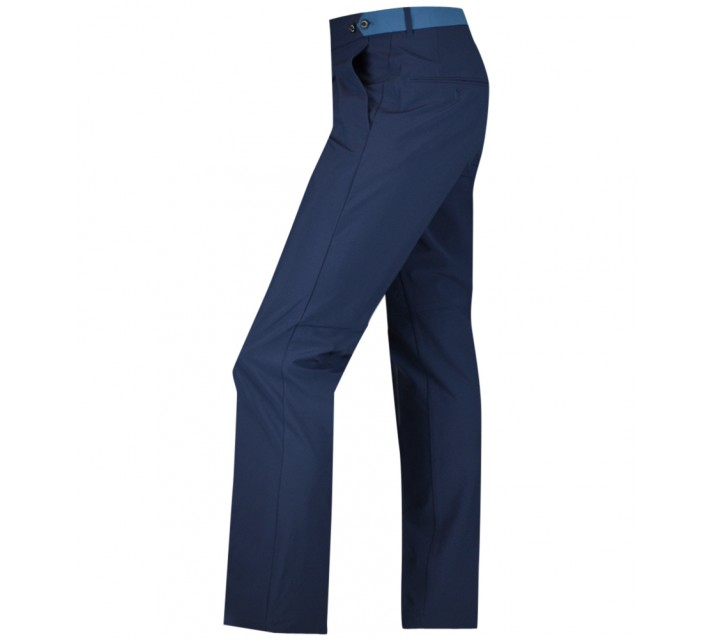 J. LINDEBERG ODEN NARROW MICRO STRETCH PANTS NAVY/PURPLE - AW15