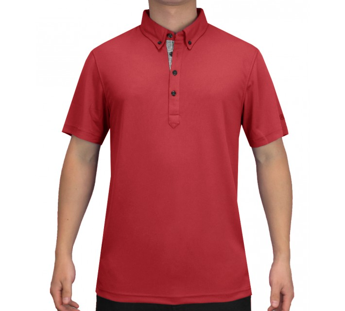 ABACUS OLIVER POLO RED - SS15