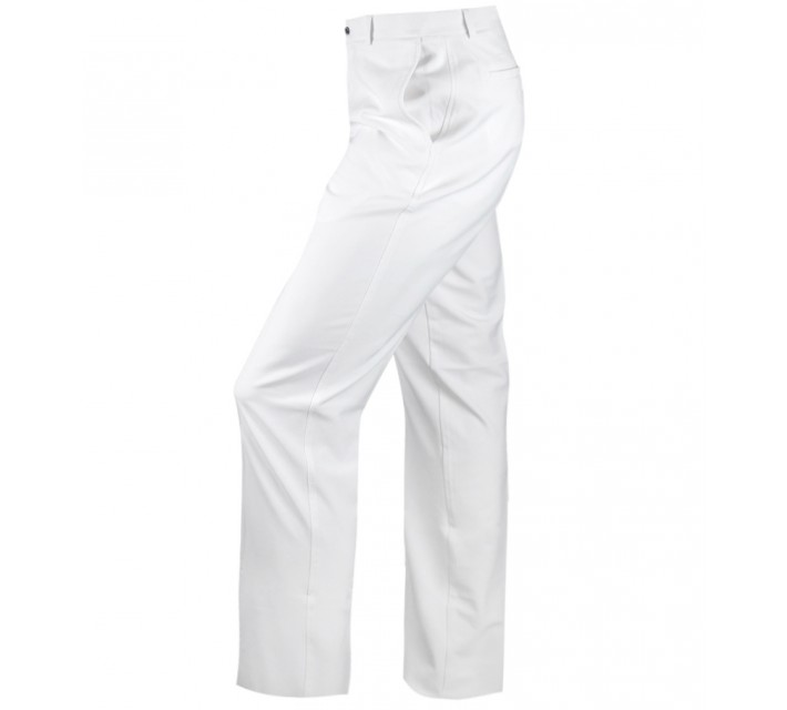 DUNNING 4-WAY STRETCH WOVEN PANT WHITE - AW15