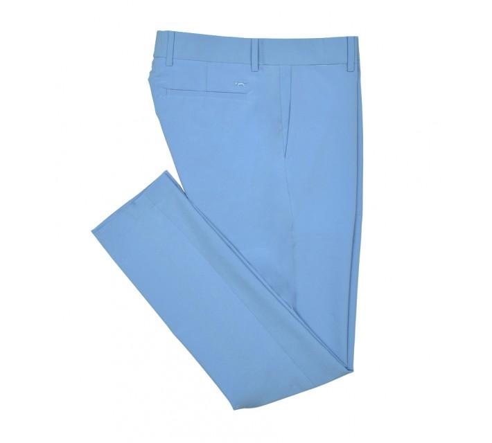 WOLSEY PALM HIGH STRETCH SPORT CHINO AZURE BLUE - SS16