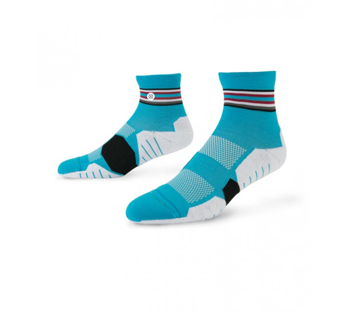 STANCE GOLF SOCKS PALMILLA QUARTER WHITE - AW15