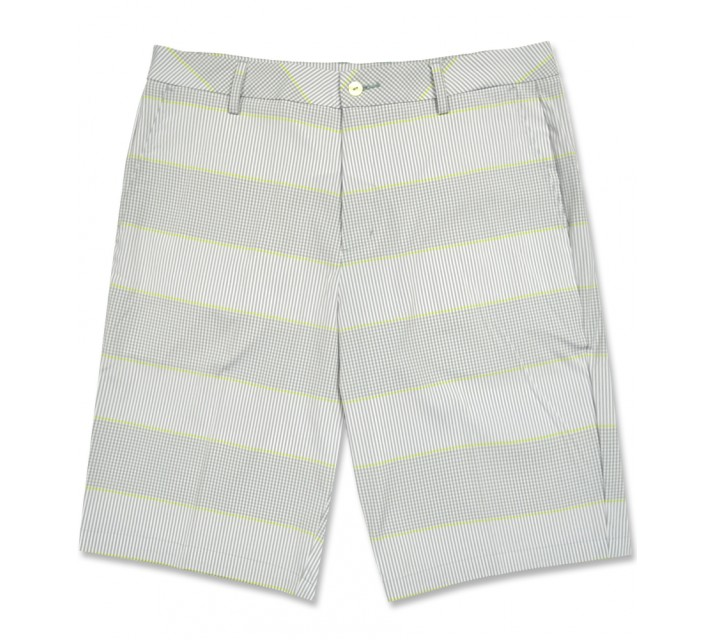 PUMA PATTERN SHORT WHITE/LIME PUNCH - AW16