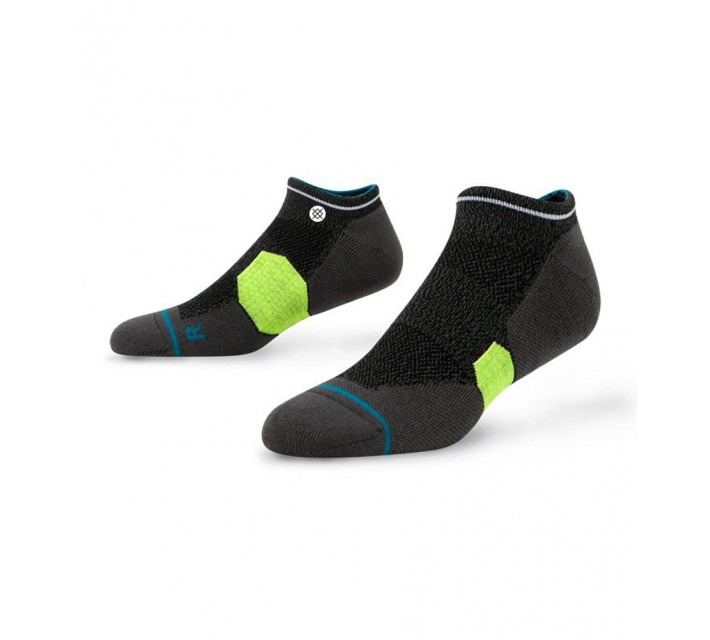 STANCE GOLF SOCKS PEBBLE LOW BLACK - AW16