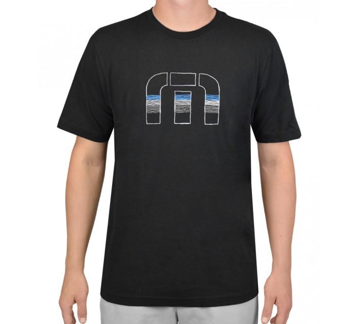 TRAVISMATHEW T-SHIRT PENCIL BLACK - AW15