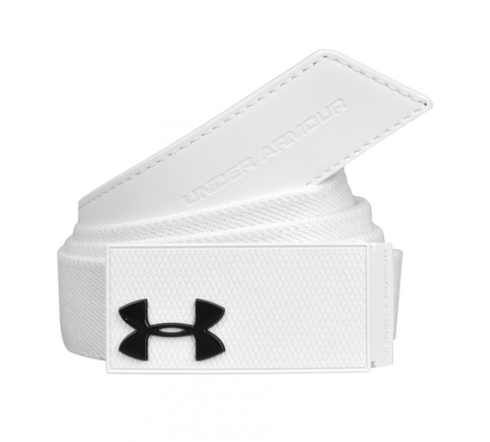 UNDER ARMOUR PERFORMANCE STRETCH BELT WHITE - SS16
