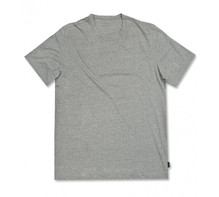 DUNNING SHORT SLEEVE PERFORMANCE CREW GREY HEATHER - AW16