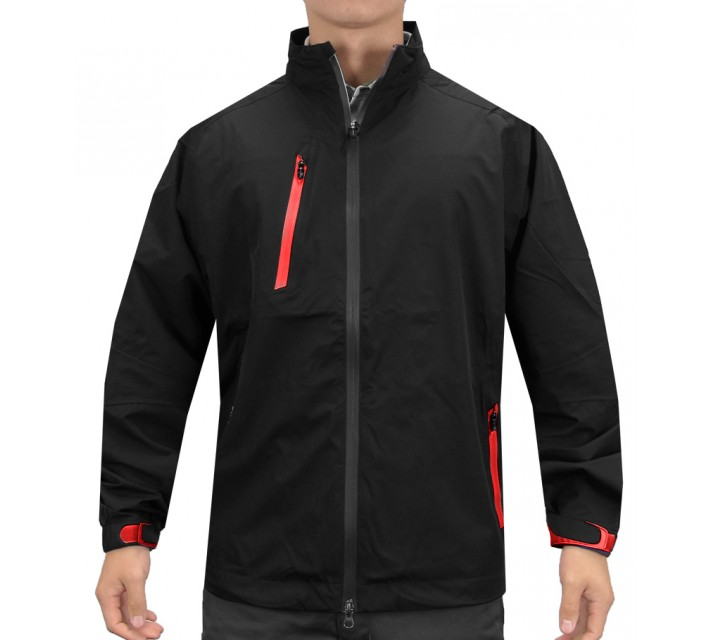 ZERO RESTRICTION PINNACLE JACKET BLACK/RED - AW15