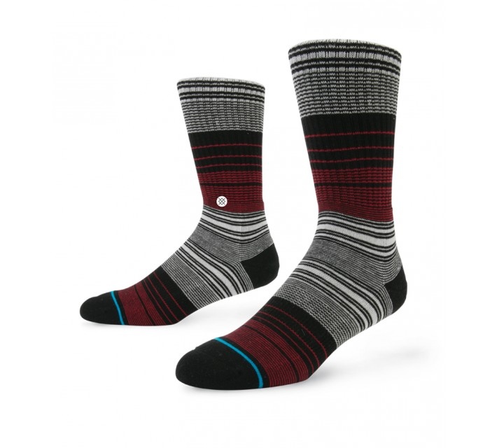 STANCE GOLF SOCKS PINNED RED - AW15
