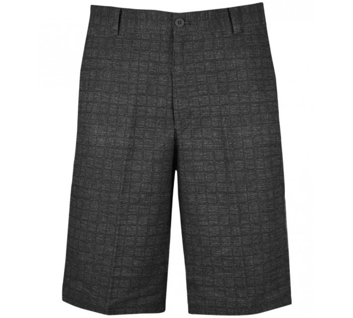 NIKE PLAID SHORT DARK GREY - AW15 CLOSEOUT
