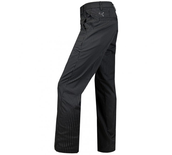 PUMA PLAID TECH PANT BLACK - AW15