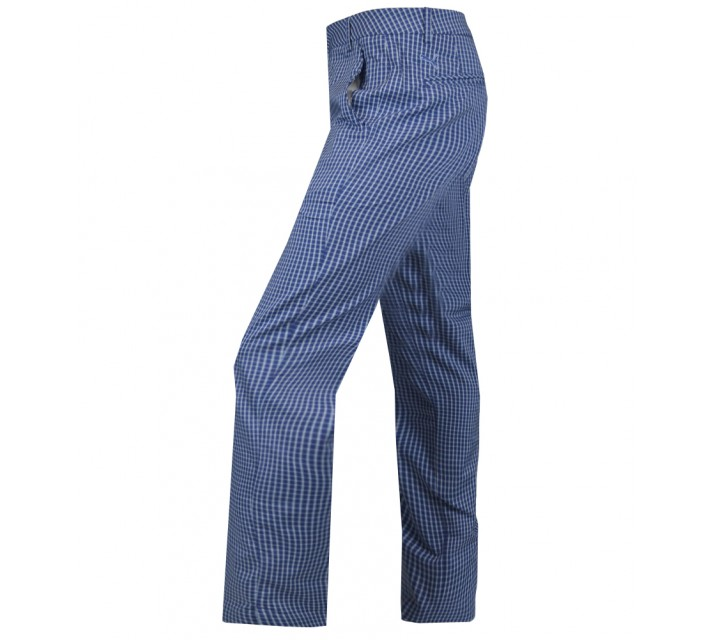 PUMA PLAID TECH PANT SODALITE BLUE/PLAID - AW15