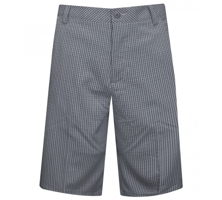PUMA PLAID TECH SHORT FOLKSTONE GREY - SS15