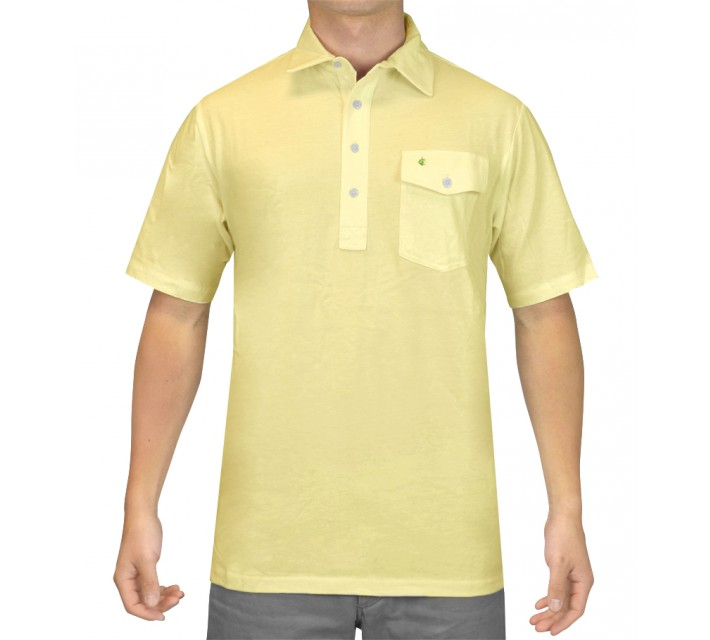 CRIQUET THE PLAYERS SHIRT THE '86 YELLOW - SS15