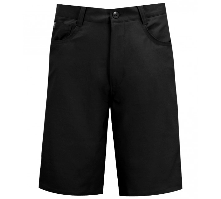 MATTE GREY PLAYER SHORTS BLACK - AW15