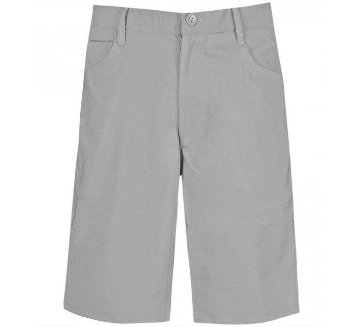 MATTE GREY PLAYER SHORTS STEEL - AW15