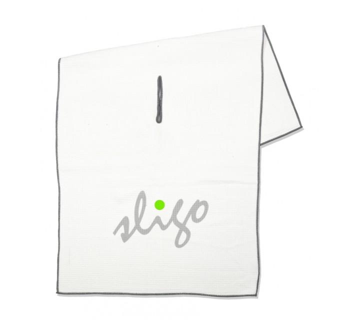 SLIGO PLAYERS GOLF TOWEL WHITE - AW16
