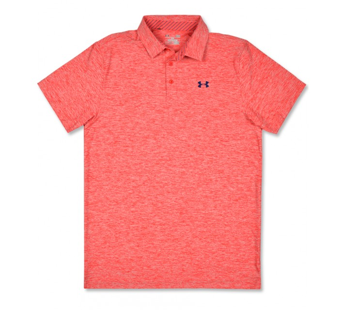 UNDER ARMOUR PLAYOFF HEATHER POLO ROCKET - SS16