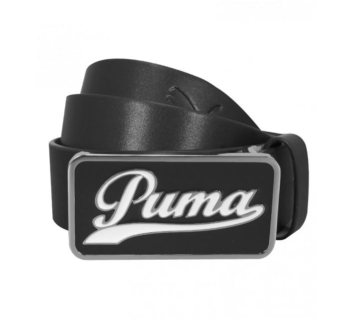 PUMA SCRIPT FITTED BELT BLACK - AW15