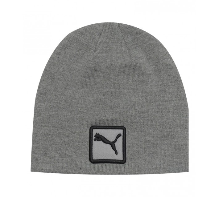 PUMA CAT PATCH BEANIE GREY - SS15