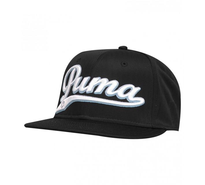 PUMA SCRIPT COOL CELL SNAPBACK CAP BLACK - AW15