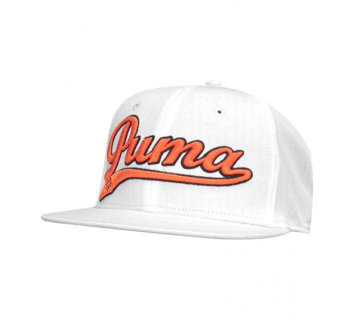 PUMA SCRIPT COOL CELL SNAPBACK CAP WHITE - AW15