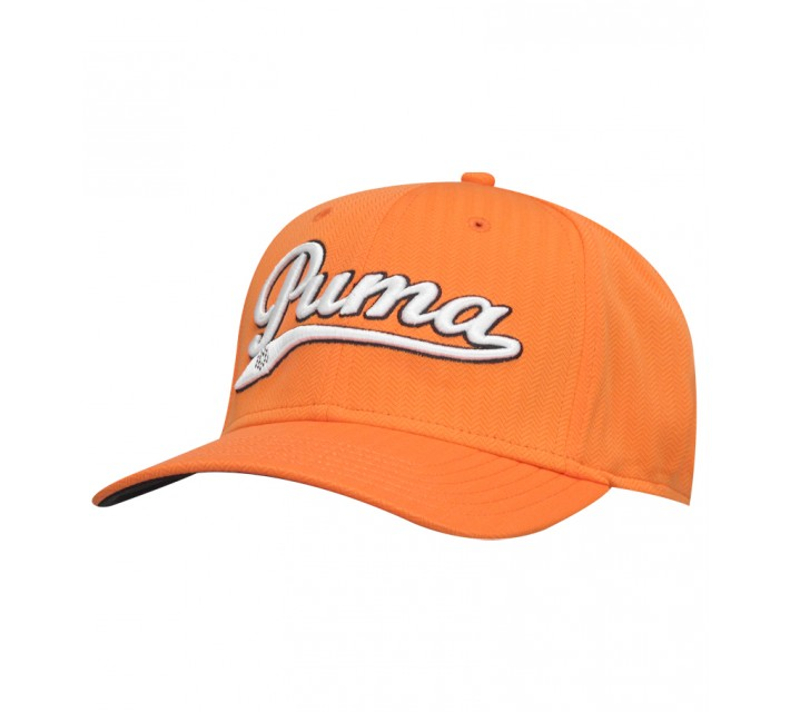 PUMA SCRIPT COOL CELL RELAXED CAP VIBRANT ORANGE - AW15