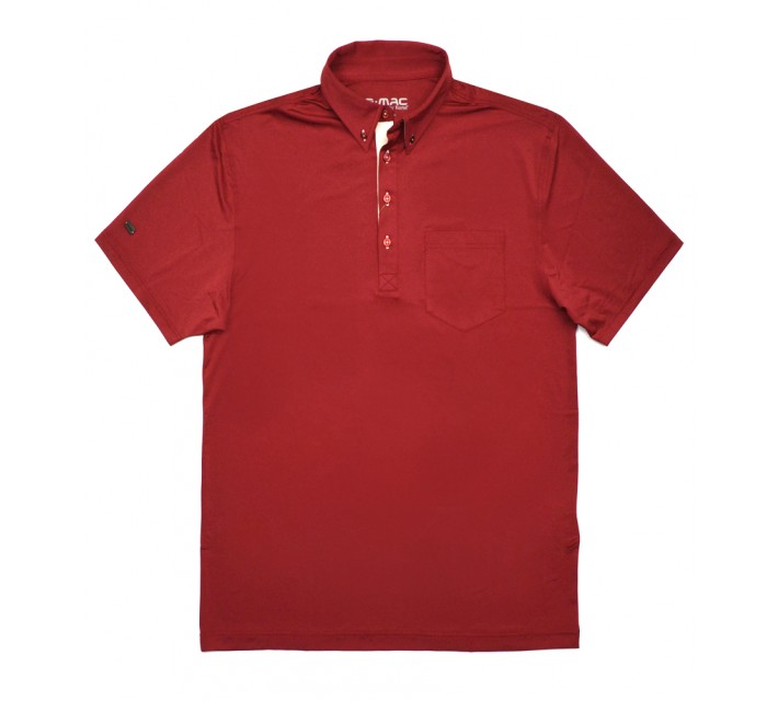 G-MAC PORTRUSH POLO TANGO RED - SS16