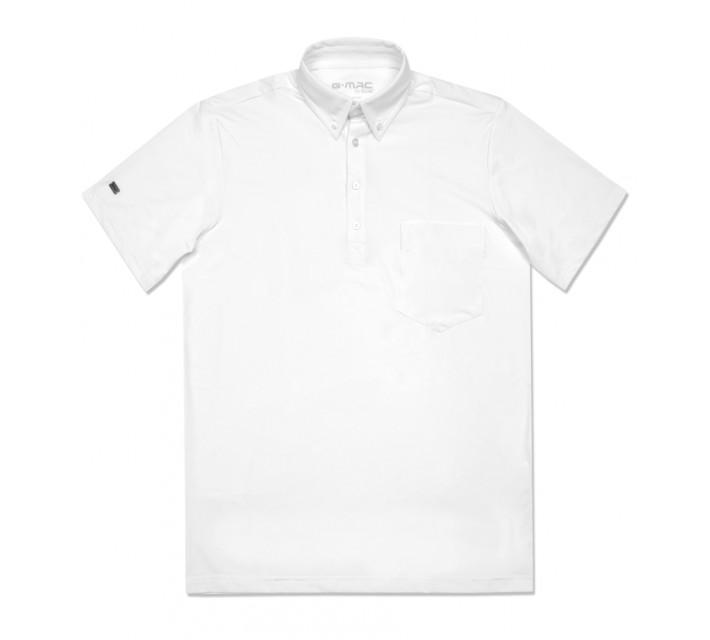 G-MAC PORTRUSH POLO WHITE - AW16
