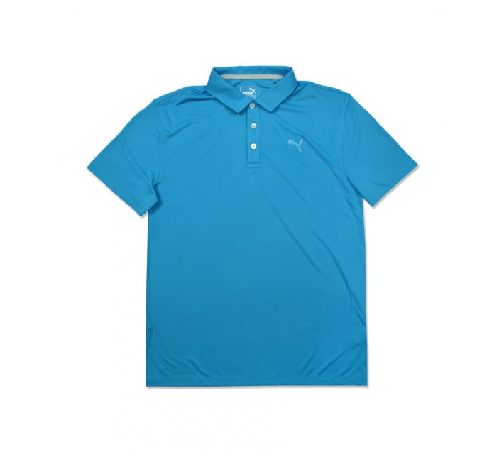 PUMA JUNIOR BOYS POUNCE POLO ATOMIC BLUE - SS16
